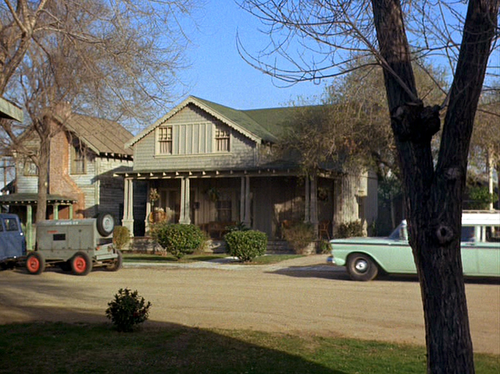 andy taylor s residence from the andy griffith show immediately to the